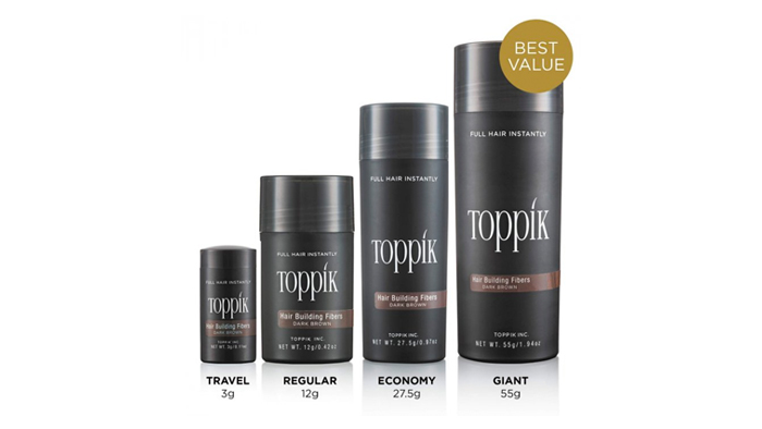 Toppik Products - Aremyhair Singapore