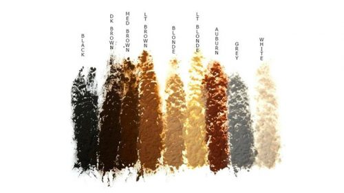 Toppik Hair Color Chart - iAremyhair blog