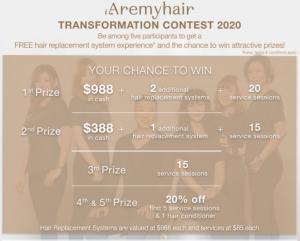 iAremyhair Transformation Contest 2020